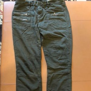 Blank NYC Skinny Classique Army Green Jeans